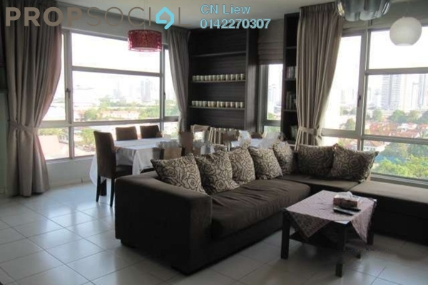 For Sale Condominium at The Saffron, Sentul Freehold Fully Furnished 4R/2B 1.6m