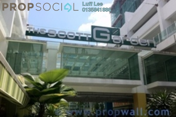 For Sale Condominium at The Scott Garden, Old Klang Road Freehold Fully Furnished 1R/2B 400k