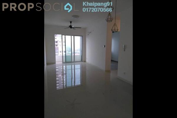 For Sale Condominium at Scenaria, Segambut Freehold Semi Furnished 3R/2B 670k