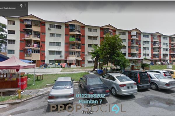 For Sale Apartment at Sri Endah Apartment, Sri Petaling Freehold Semi Furnished 2R/1B 230k