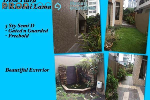 For Sale Semi-Detached at Desa Tiara, Kuchai Lama Freehold Fully Furnished 6R/5B 2.7m