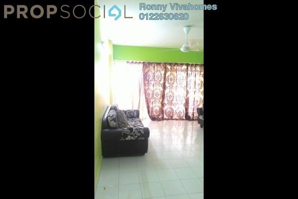 For Rent Condominium at Sentul Utama Condominium, Sentul Freehold Semi Furnished 3R/2B 1.3k