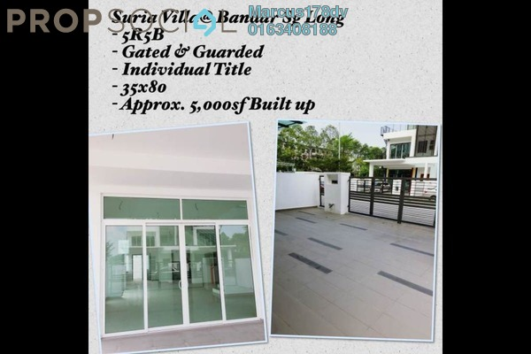 For Sale Semi-Detached at Bukit Sungai Long 1, Bandar Sungai Long Freehold Unfurnished 5R/6B 1.53m