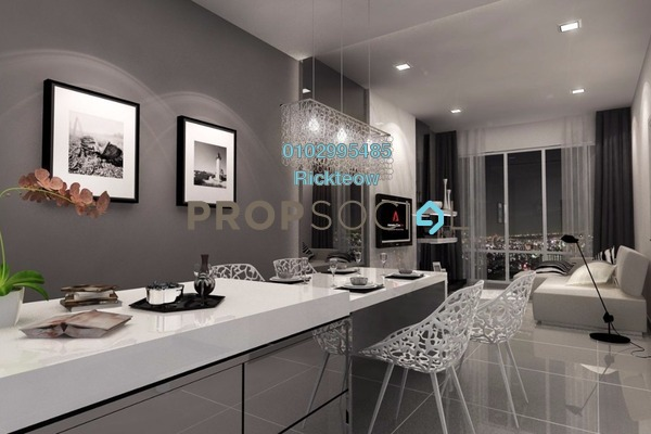 For Sale Condominium at Midfields, Sungai Besi Freehold Fully Furnished 3R/2B 578k