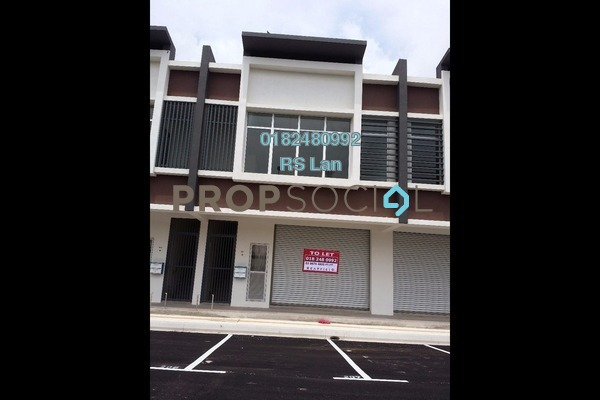For Rent Shop at Saujana KLIA, Sepang Freehold Unfurnished 0R/2B 2.8k
