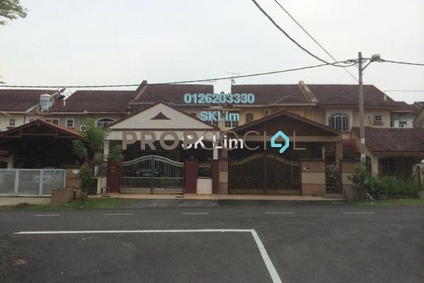 For Sale Terrace at Taman Kajang Sentral, Kajang Freehold Unfurnished 4R/3B 450k