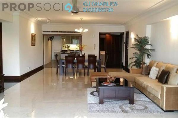 For Rent Condominium at Regency Tower, Bukit Ceylon Freehold Semi Furnished 4R/3B 6k