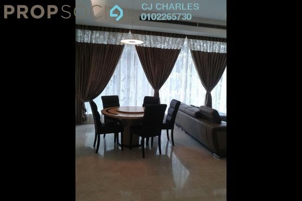 For Rent Condominium at Dua Residency, KLCC Freehold Semi Furnished 4R/4B 6k
