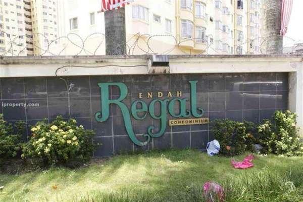 For Sale Condominium at Endah Regal, Sri Petaling Leasehold Semi Furnished 3R/2B 378k