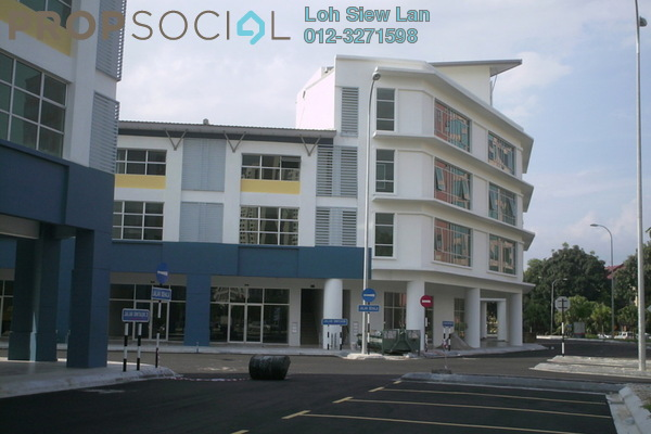 For Sale Shop at Dataran Dwitasik, Bandar Sri Permaisuri Leasehold Unfurnished 0R/0B 2.8m