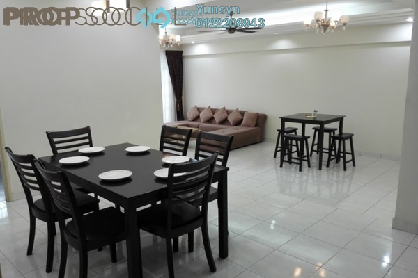 For Rent Condominium at Sterling, Kelana Jaya Freehold Fully Furnished 3R/4B 2.5k