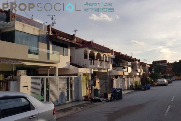 For Sale Terrace at Taman Wahyu, Jalan Ipoh Freehold Semi Furnished 4R/3B 699k