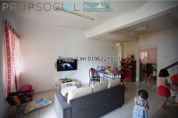 For Sale Terrace at PU9, Bandar Puchong Utama Freehold Semi Furnished 4R/3B 448k