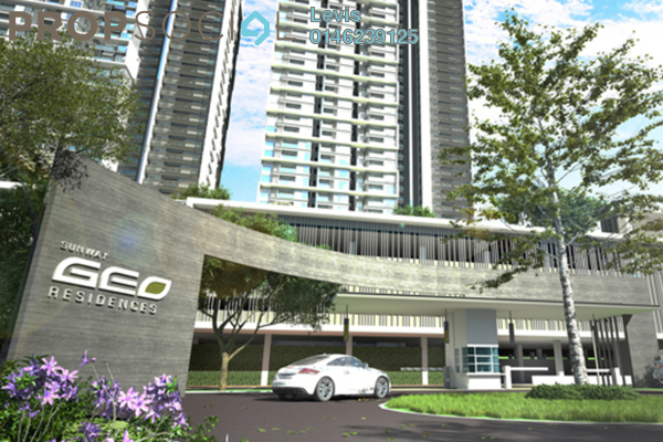 For Rent Condominium at Sunway GEO Retail, Bandar Sunway Freehold Fully Furnished 2R/2B 3.1k
