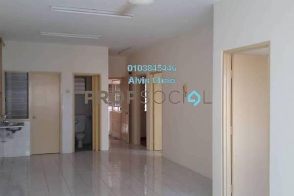 For Rent Apartment at Cemara Apartment, Bandar Sri Permaisuri Freehold Semi Furnished 3R/2B 1.4k