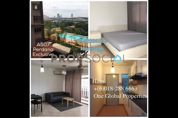 For Sale Condominium at Perdana Exclusive, Damansara Perdana Leasehold Semi Furnished 3R/2B 500k