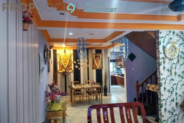 For Sale Link at Taman Sentosa, Klang Freehold Semi Furnished 4R/3B 340k