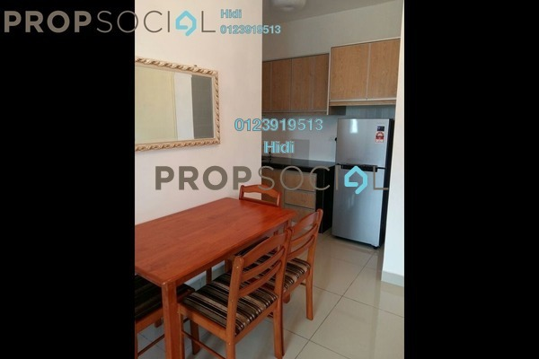 For Rent Condominium at De Centrum City, Kajang Freehold Fully Furnished 2R/1B 1.5k