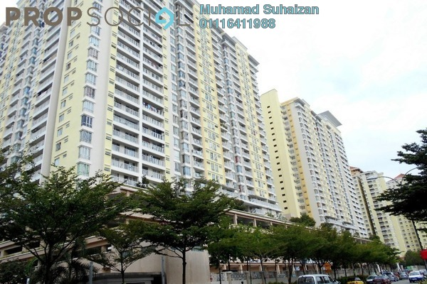 For Sale Condominium at Platinum Lake PV16, Setapak Freehold Fully Furnished 3R/2B 625k