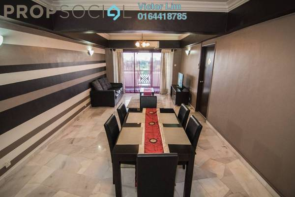 For Rent Condominium at Shang Villa, Kelana Jaya Freehold Fully Furnished 4R/2B 2.3k