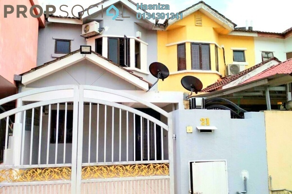 For Rent Terrace at Taman Gombak Ria, Gombak Freehold Semi Furnished 3R/2B 2.2k