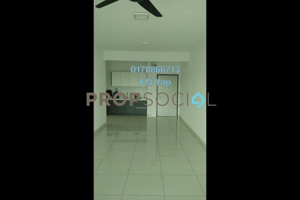 For Rent Serviced Residence at Spring Avenue, Kuchai Lama Freehold Semi Furnished 3R/2B 1.5k