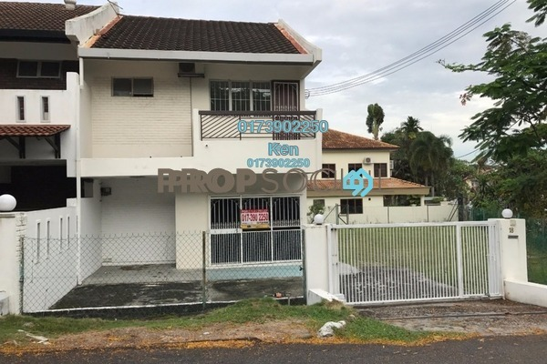For Rent Terrace at Taman Megah, Kelana Jaya Freehold Unfurnished 4R/3B 3k