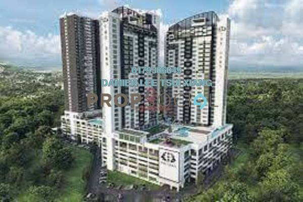 For Sale SoHo/Studio at Impression City, Melaka Leasehold Fully Furnished 1R/1B 400k