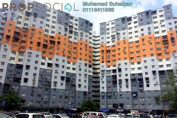 For Sale Apartment at Sri Penara, Bandar Sri Permaisuri Leasehold Semi Furnished 3R/2B 250k