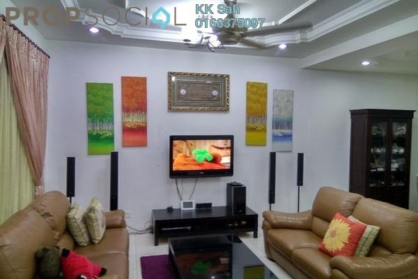 For Sale Link at Section 2, Bandar Mahkota Cheras Freehold Semi Furnished 4R/3B 758k