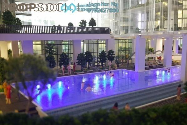 For Sale Serviced Residence at AraTre' Residences, Ara Damansara Leasehold Semi Furnished 2R/2B 550k