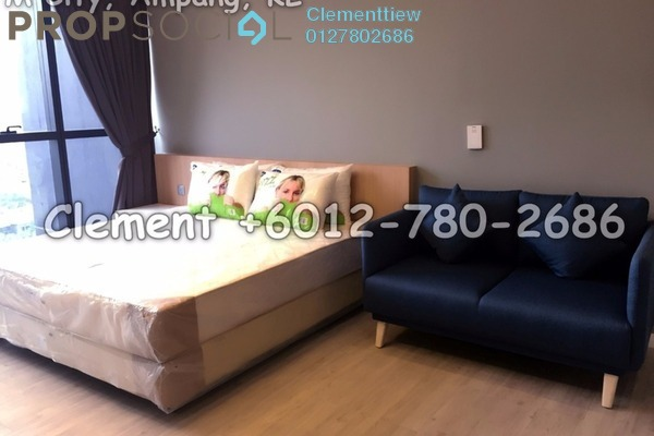 For Rent Condominium at M City, Ampang Hilir Freehold Fully Furnished 0R/1B 1.8k