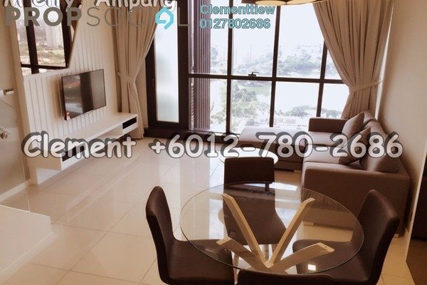 For Rent Condominium at M City, Ampang Hilir Freehold Fully Furnished 1R/2B 2.7k
