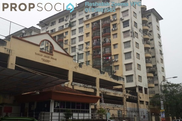 For Sale Apartment at Taman Abadi Indah, Taman Desa Freehold Unfurnished 3R/2B 345k