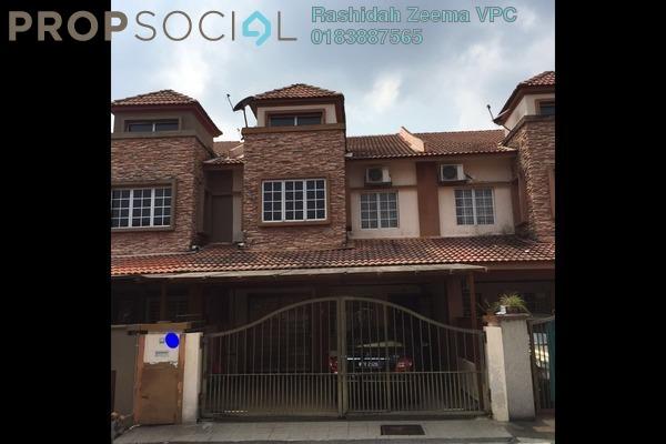 For Sale Terrace at Bangi Perdana, Bandar Baru Bangi Leasehold Fully Furnished 4R/3B 615k