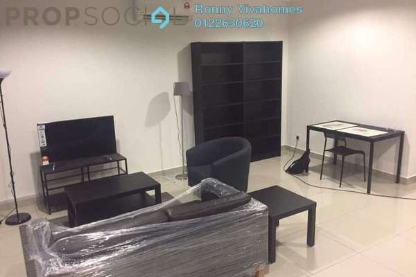 For Rent SoHo/Studio at 3Elements, Bandar Putra Permai Freehold Fully Furnished 1R/1B 1.4k