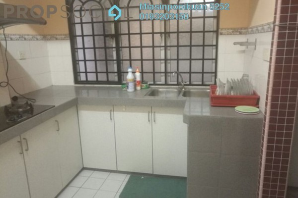 For Rent Condominium at Seri Anggun, Jalan Ipoh Freehold Semi Furnished 3R/2B 1.4k