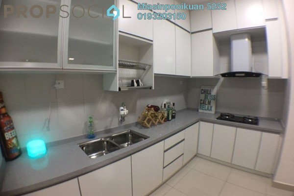For Rent Condominium at Royal Regent, Dutamas Freehold Semi Furnished 4R/3B 2.7k
