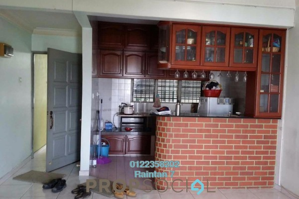For Rent Condominium at Petaling Indah, Sungai Besi Freehold Semi Furnished 3R/2B 1.25k
