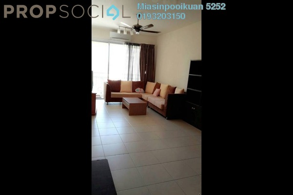 For Rent Condominium at Platinum Hill PV3, Setapak Freehold Semi Furnished 3R/2B 1.9k