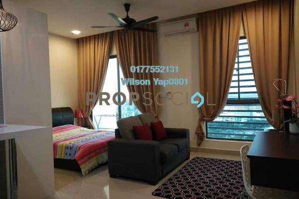For Rent SoHo/Studio at CyberSquare, Cyberjaya Freehold Fully Furnished 1R/1B 1.6k