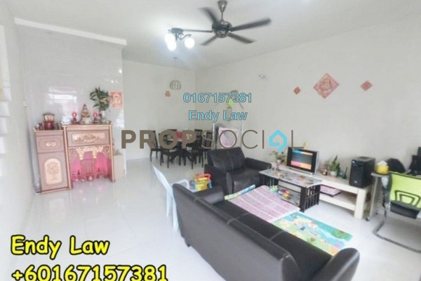 For Sale Terrace at Luciana, Setia Eco Gardens Freehold Unfurnished 4R/3B 548k