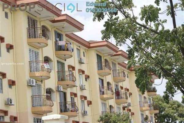 For Sale Apartment at Goodyear Court 1, UEP Subang Jaya Freehold Semi Furnished 3R/2B 300k