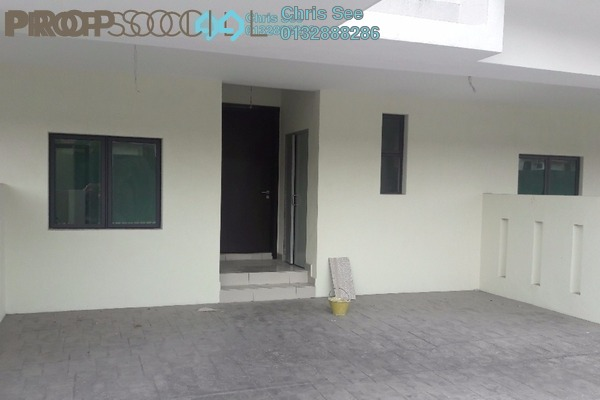 For Rent Terrace at Lakeside Residences, Puchong Leasehold Unfurnished 4R/4B 1.8k