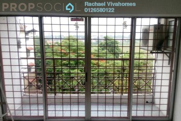 For Sale Apartment at Jasmine Court, Bandar Puchong Jaya Freehold Semi Furnished 3R/2B 273k