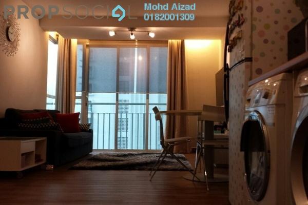 For Sale Serviced Residence at Menara U, Shah Alam Freehold Semi Furnished 2R/1B 390k
