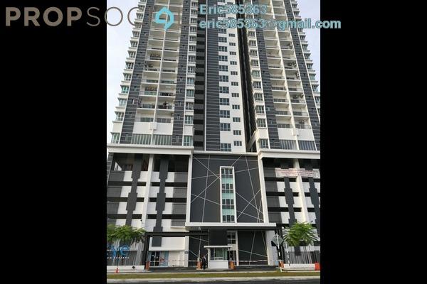 For Sale Condominium at DeSkye Residence, Jalan Ipoh Freehold Semi Furnished 3R/2B 618k