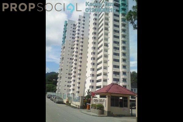 For Rent Condominium at Desa Golf, Bukit Jambul Freehold Fully Furnished 3R/3B 1k