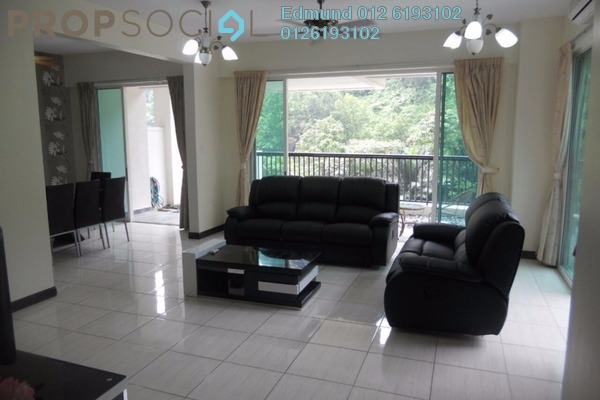 For Rent Condominium at Armanee Terrace I, Damansara Perdana Freehold Fully Furnished 4R/3B 3.6k
