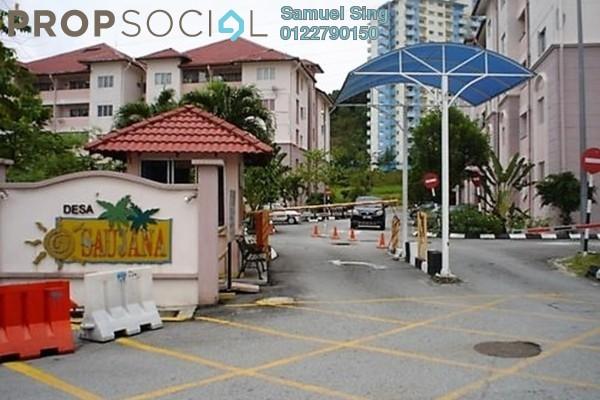 For Sale Apartment at Desa Saujana, Seri Kembangan Freehold Fully Furnished 3R/2B 365k